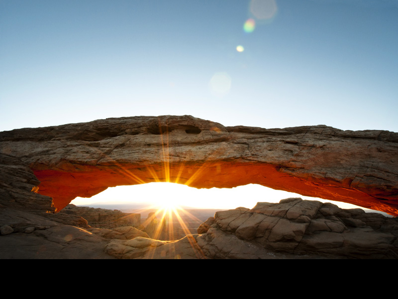 Mesa Arch Day